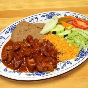 pork chile rojo