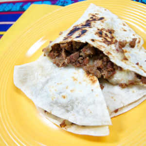 Quesadilla - Meat and Cheese