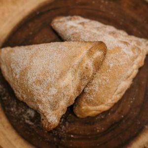 custard empanada