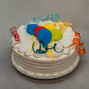 3 leches Balloon Cake