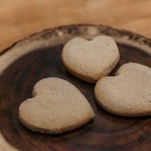 Heart-Shaped Polvorones