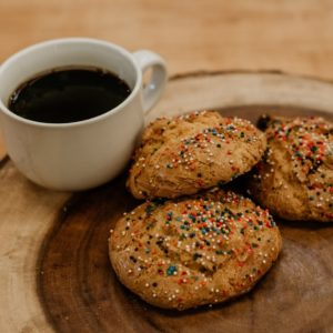 Sprinkled Guayabita cookies