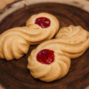 swan cookie