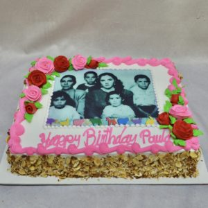 family portrait cake
