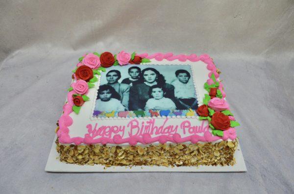 family portrait cake
